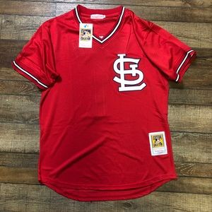NWT Ozzie Smith St. Louis Cardinals MLB Jersey